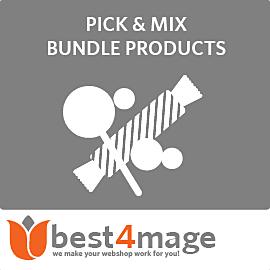 Pick & Mix Bündelartikeln für Magento 2